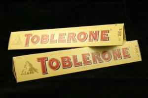 Toblerone beschermd als vormmerk